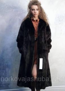 b4a5d51af30 Женская шуба норковая классика размер 48 50 купить по распродаже 48 18000грн