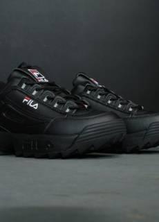 3a39c44f Женские кроссовки Fila Disruptor 2 Black | Фила | размеры: 36-40 Fila  1650грн
