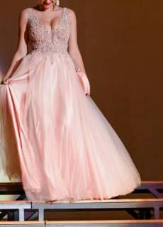 1c0eb063e39 Выпускное платье нежно-розового цвета 44 6000грн