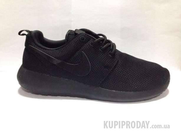 7b9f8e0c Nike roshe run 1 найки рош ран 1 полностью черные сетка унисекс ...
